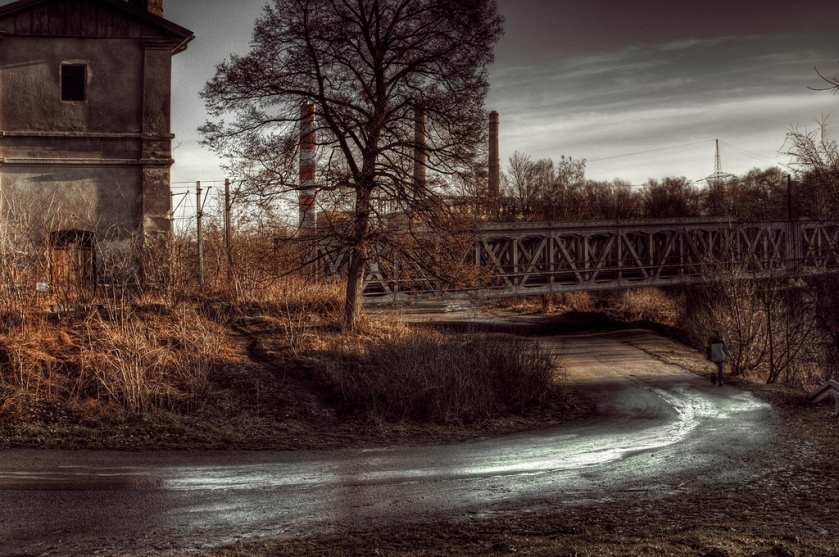 Old Factory by Richard Jonkman